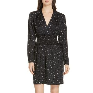 NWT! Rebecca Taylor Painted Dot Cocktail Dress